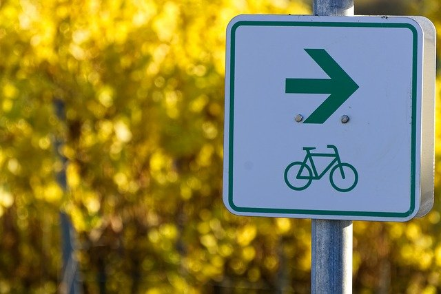 Bicycle Path Shield Characters  - distelAPPArath / Pixabay